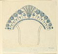 Drawing, Design for comb, 1820–25 (CH 18560715).jpg