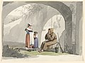 Drawing, Two Girls from Frascati Visit a Hermit, 1807 (CH 18329661).jpg