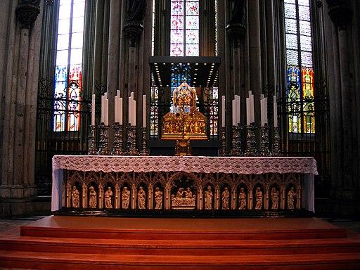 Dreikonigenschrein koeln und Altar