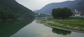 Zvornik - River Drina