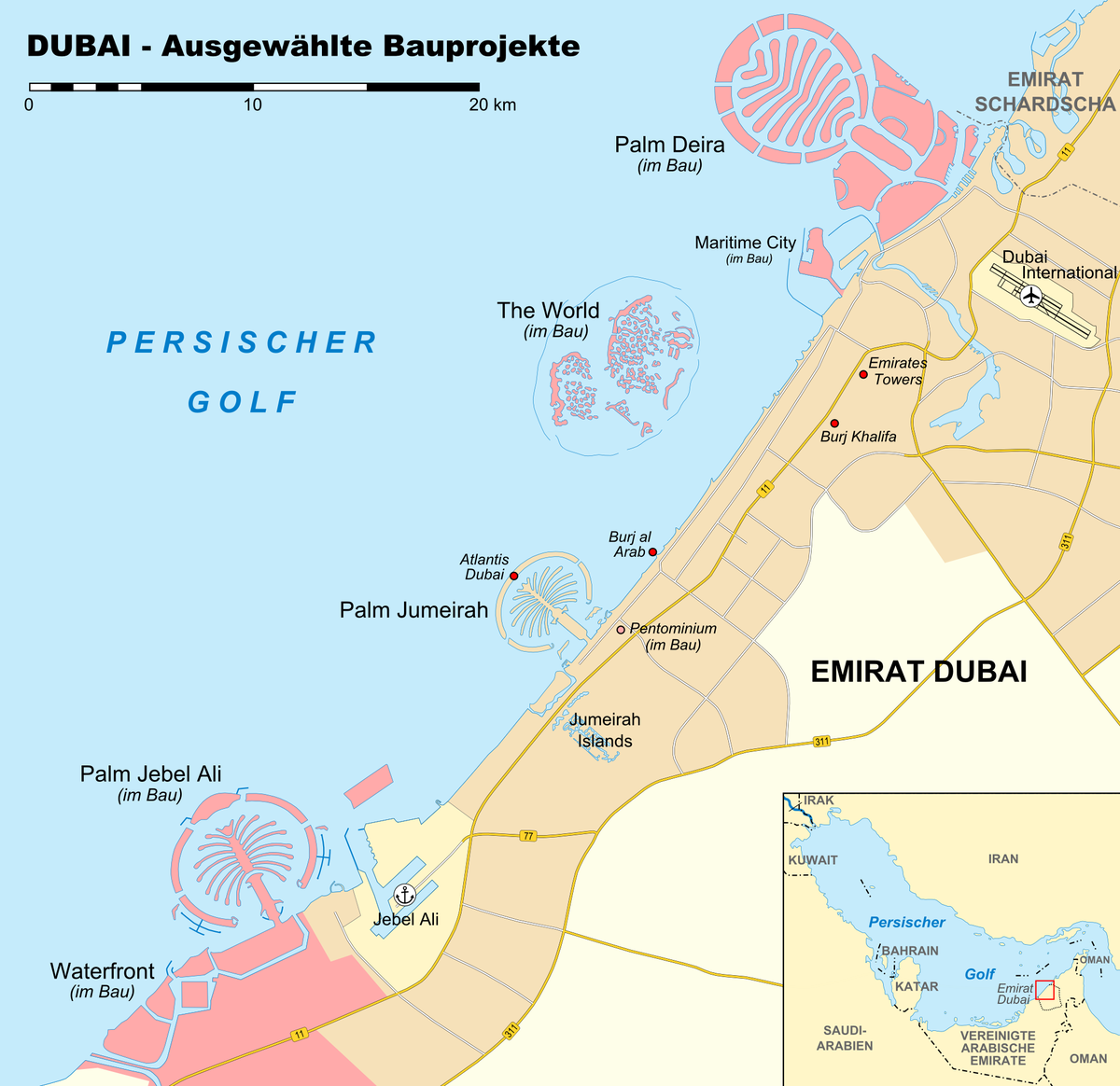 dubai weltkarte The World (Inselgruppe) – Wikipedia dubai weltkarte