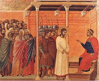 Duccio di Buoninsegna - Christ Before Pilate Again - WGA06805.jpg