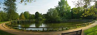 University Parks - The duck pond in the Parks.