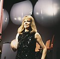 Duitse zangeres Hildegard Knef maakt TV opnamen, Bestanddeelnr 254-8434.jpg