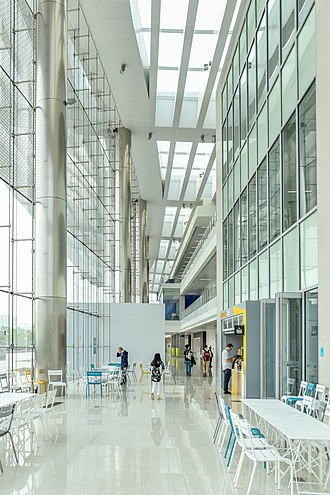 Duke Kunshan University - Interior of the Academic Building