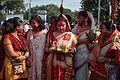 Durga Idol Immersion Procession - Baja Kadamtala Ghat - Kolkata 2012-10-24 1410.JPG