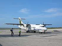 Dutch Antilles Express ATR 42 at Curaçao.jpg