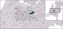 Location of Leusden
