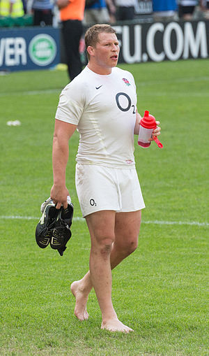 Dylan Hartley - Image: Dylan Hartley, Twickenham May 2012