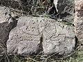 Dzagavank (cross in wall) (93).jpg