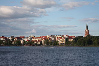 Warmian-Masurian Voivodeship - Ełk is the largest city of Masuria