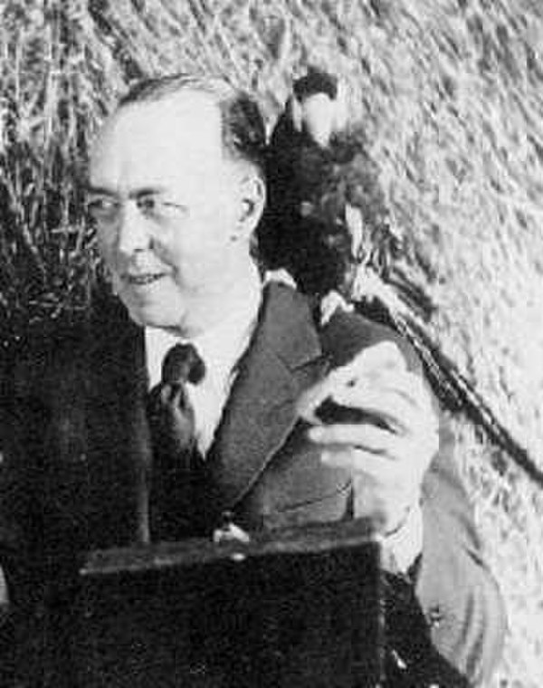 Photo Edgar Rice Burroughs via Wikidata