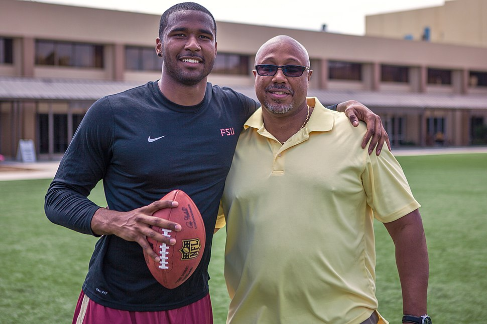EJ Manuel and father Eric
