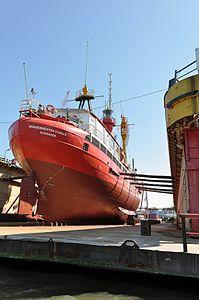 ELBE1 - Bürgermeister O'Swald (ship, 1948) 2012 05-by-RaBoe 13.jpg