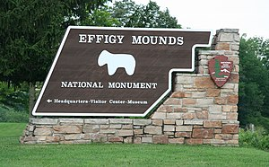 Effigy Mounds National Monument - An entrance to Effigy Mounds National Monument
