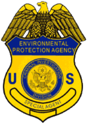 Office of Enforcement and Compliance Assurance - Image: EPA CID Badge