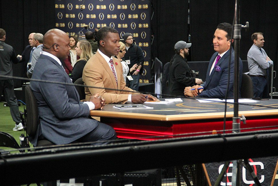 ESPN College Football set at the 2018 College Football Playoff National Championship media day