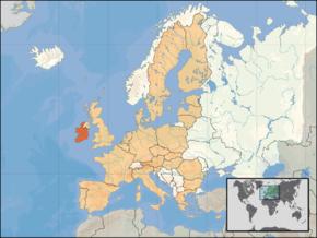 kart irland Irland – Wikipedia kart irland