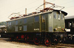 Bavarian EP 2 - Image: E 32 27 (08.10.1985)