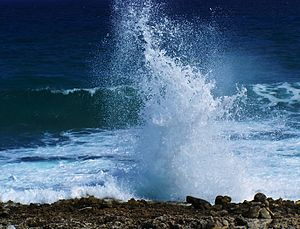 English: Blow Hole, East End - Grand Cayman Island
