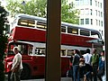 East London Routemaster bus RM1933 (ALD 933B), heritage route 15, Strand, 12 June 2010 (1).jpg