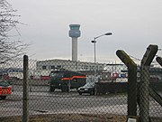 East Midlands Airport and the Control Tower - geograph.org.uk - 105789