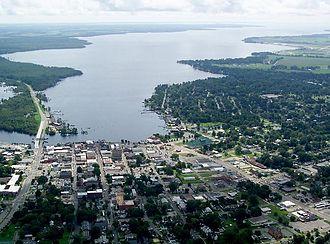 Elizabeth City, North Carolina - Image: Ec birdview