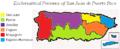 Ecclesiastical Province of San Juan map.png