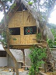 File Ecuador Mindo Bamboo House Jpg Wikimedia Commons
