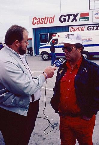 Ed McCulloch - McCulloch (right) in a 1987 interview
