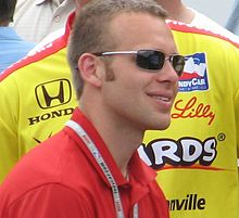 Ed Carpenter 2009 Indy 500 Carb Day.JPG