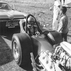 Front engine dragster - Eddie Hill's 1966 front engine dragster