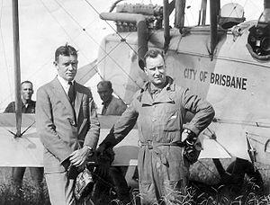 John Ronald Shafto Adair - Ron Adair (right) with Edgar Johnston, circa 1926