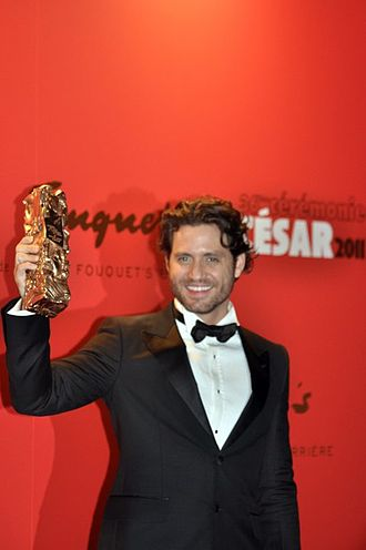 Carlos (miniseries) - Édgar Ramírez in Paris in 2011, receiving the César Award for Most Promising Actor for his performance as Carlos
