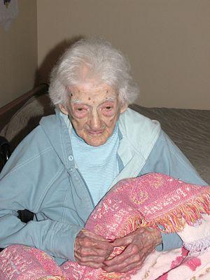 Edna Parker - Edna Parker in 2007 at age 114