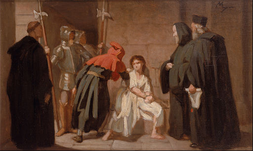 Edouard Moyse - Inquisition - Google Art Project