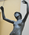Edward Onslow Ford (1852-1901) - Echo (1895) front, waist up, low angle, Lady Lever Art Gallery, June 2013 (9095233821).png