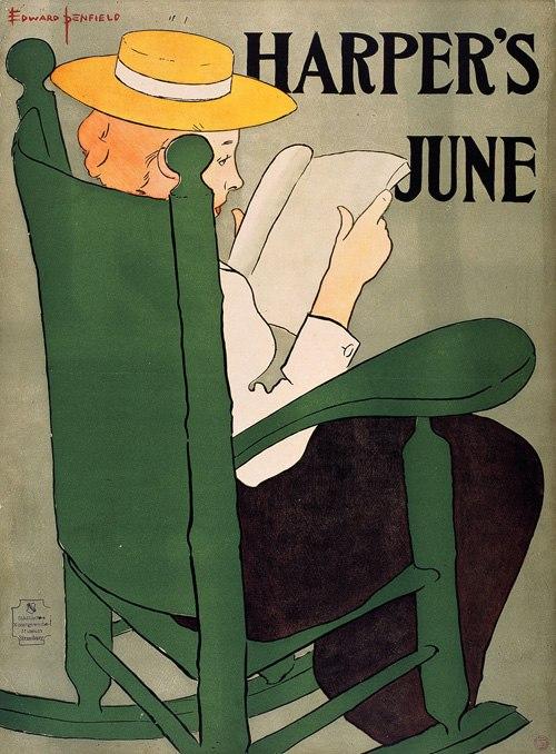 Edward Penfield, Harper's June, 1896