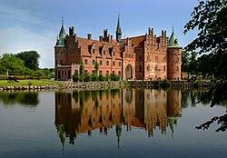 Egeskov Slot på Fyn