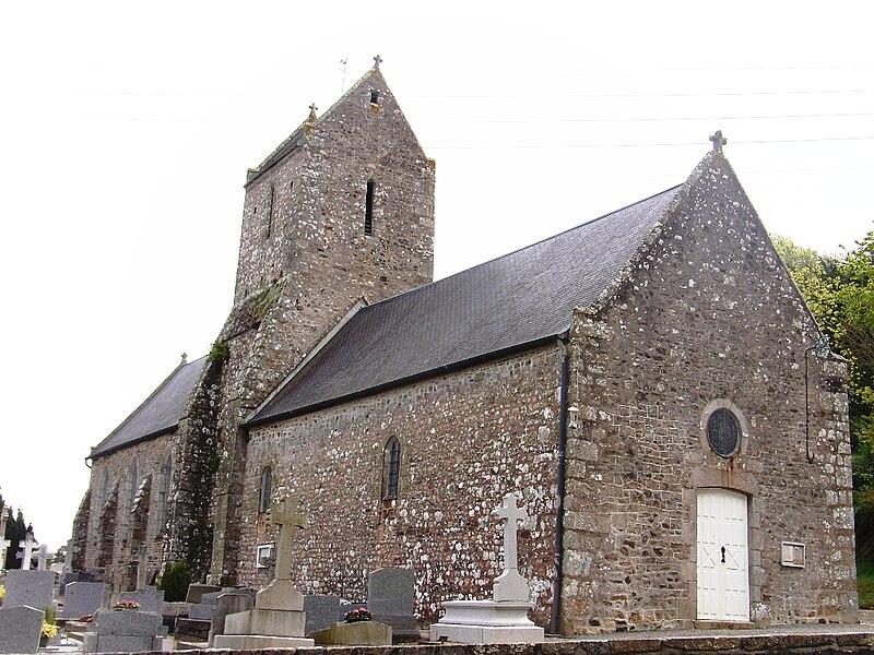 Eglise Saint-Jean-Baptiste de Bouillon-Jullouville (50)
