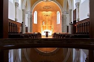 Jouarre Abbey - Jouarre Abbey church