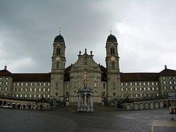 Einsiedeln Abbey Front.JPG