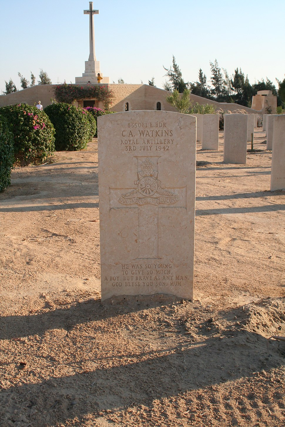 El Alamein Commonwealth Cemetery 6