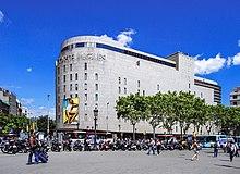 Barcelona travel guide at wikivoyage - El corte ingles plaza cataluna barcelona ...
