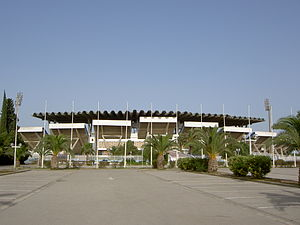 Stade El Menzah - El Menzah Stadium exterior