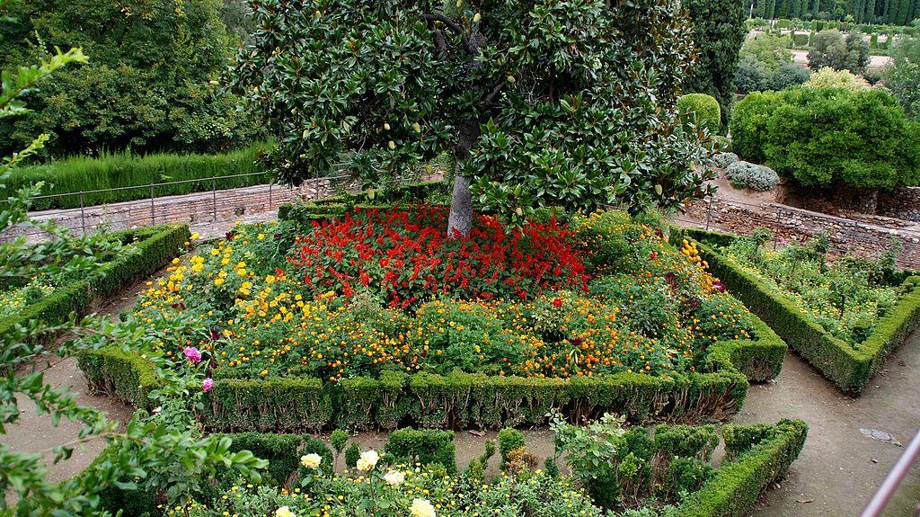 File el partal y jardines la alhambra de granada 15 jpg for Jardines de arabial granada