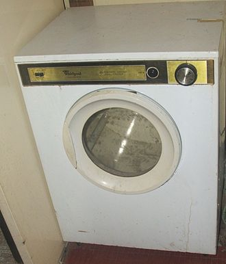 Open-loop controller - Electric clothes dryer, which is open loop controlled by running the dryer for a set time, regardless of clothes dryness.