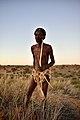Elia Fester, Kalahari Khomani San Bushman, Boesmansrus camp, Northern Cape, South Africa (20353833619).jpg