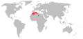 Eliomys munbyanus range map.png