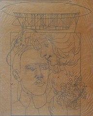 O Beijo da Glória a Santos Dumont - Estudo
